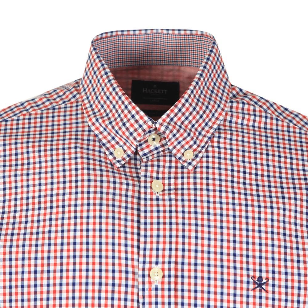 Tone Colour Check Shirt main image