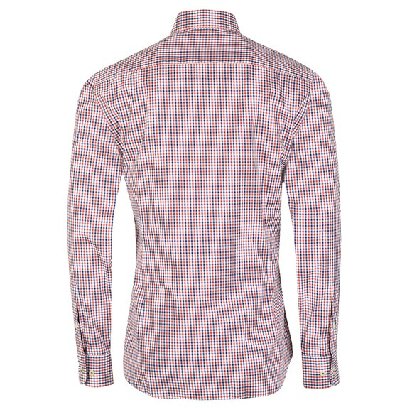 Hackett Mens Multicoloured Tone Colour Check Shirt main image