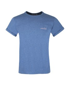 Maison Labiche Mens Blue Wanted T-Shirt