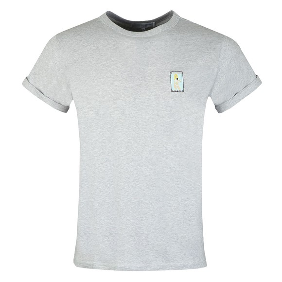 Maison Labiche Mens Grey Sexy Selfie T-Shirt