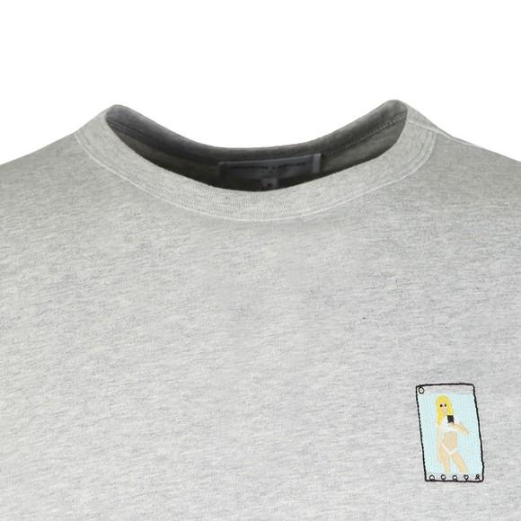 Maison Labiche Mens Grey Sexy Selfie T-Shirt main image