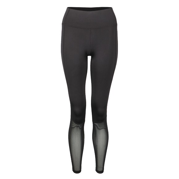 Champion Reverse Weave Womens Black Logo Legging