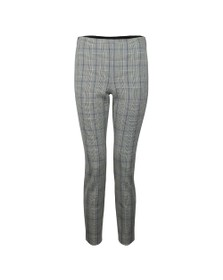 Ted Baker Womens Grey Banria Skinny Check Trouser