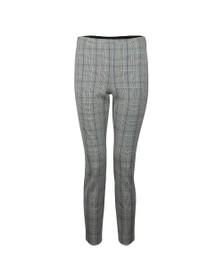 Ted Baker Womens Grey Banria Skinny Check Trouser