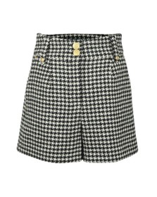 Holland Cooper Womens Houndstooth Luxe Tailored Short