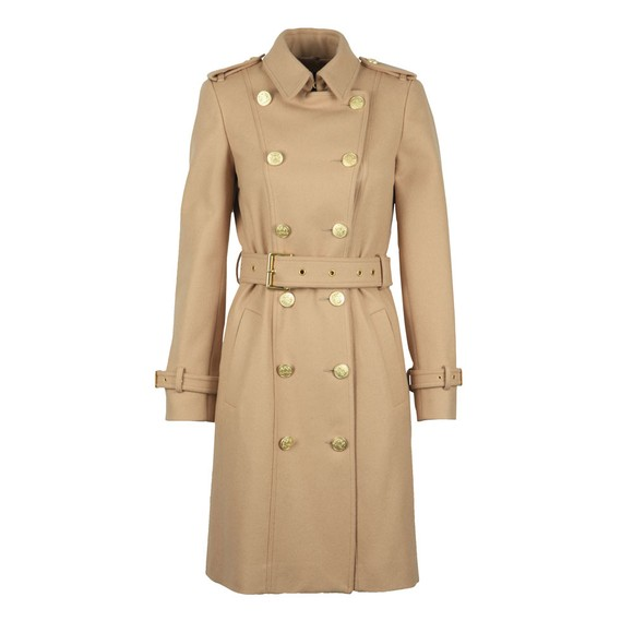 Holland Cooper Womens Brown Marlborough Trench Coat