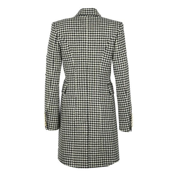 Holland Cooper Womens Black Knightsbridge Coat main image