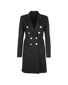 Holland Cooper Womens Black Knightsbridge Coat