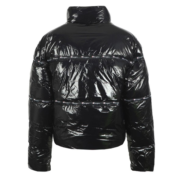 Champion Reverse Weave Womens Black Tape Shine Jacket main image