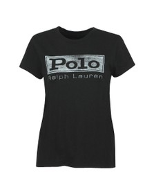 Polo Ralph Lauren Womens Black Polo PRD T Shirt