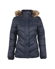 Barbour Lifestyle Womens Blue Downhall Quilted Jacket