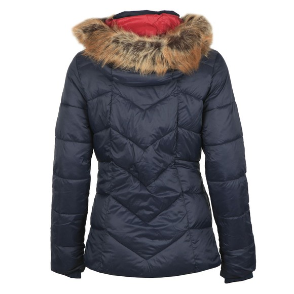 Barbour Lifestyle Womens Blue Downhall Quilted Jacket main image