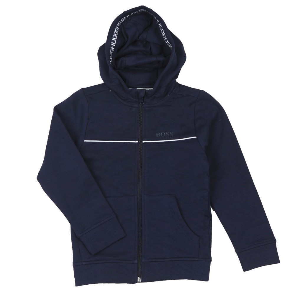 Boys Piped Detail Hoody main image