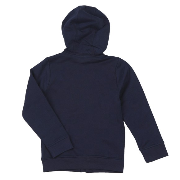 BOSS Boys Blue Boys Piped Detail Hoody