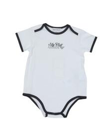 Emporio Armani Baby Boys White My First Armani Set
