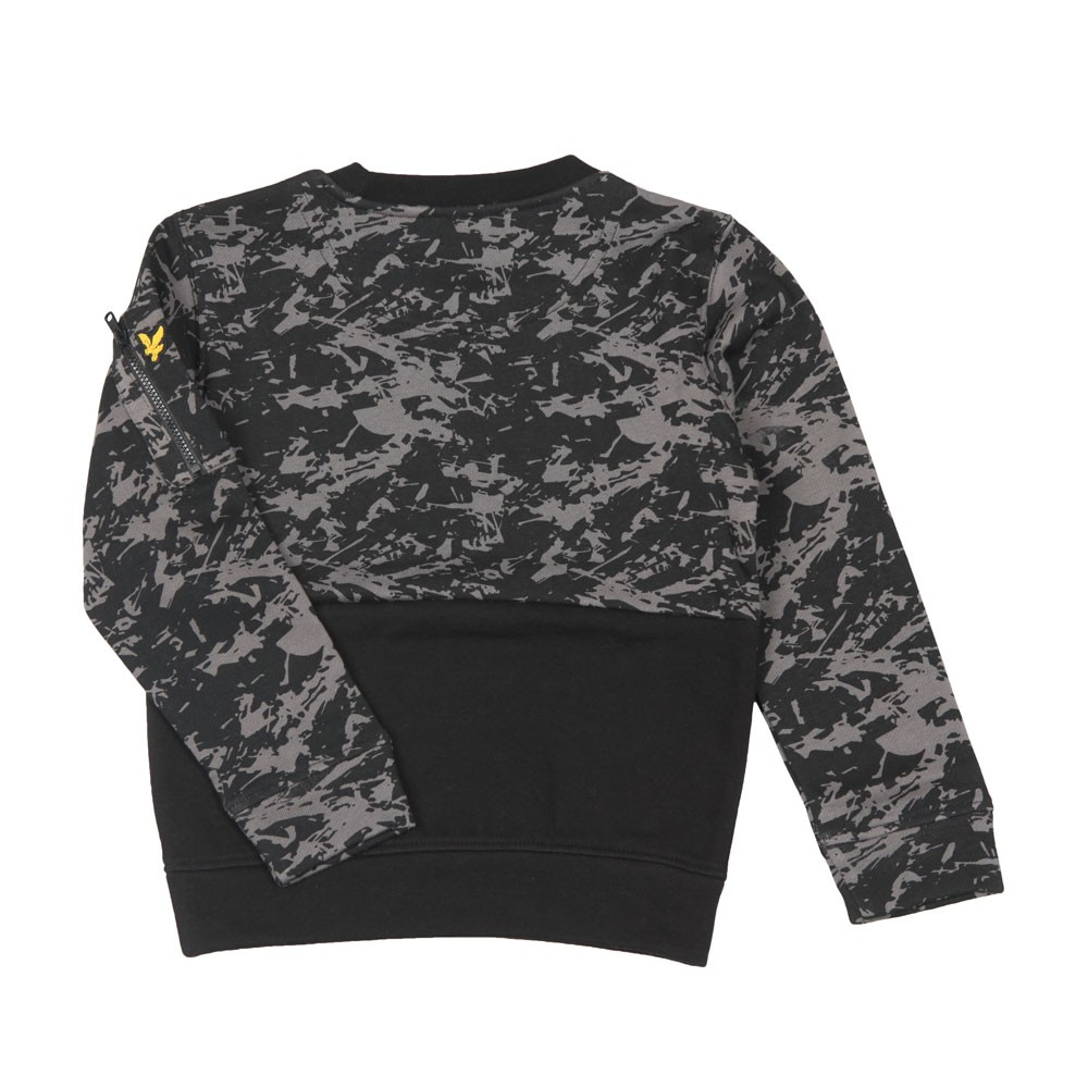 Camo Block Crew Sweatshirt main image
