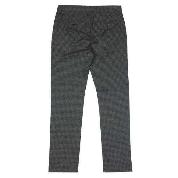 Ted Baker Mens Grey Sybili Slim Checked Trouser main image
