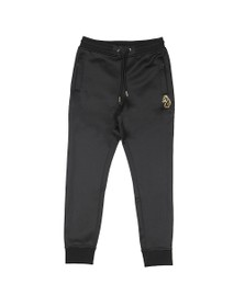 Luke Sport Mens Black XTC Gold Zip Jogger