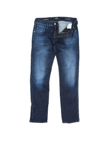 Replay Mens Blue Hyperflex Cloud Stretch Jean
