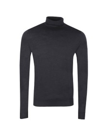 John Smedley Mens Grey Cherwell Roll Neck Jumper