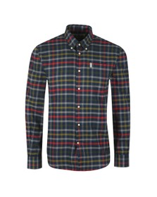 Barbour Lifestyle Mens Blue Hadlo Shirt