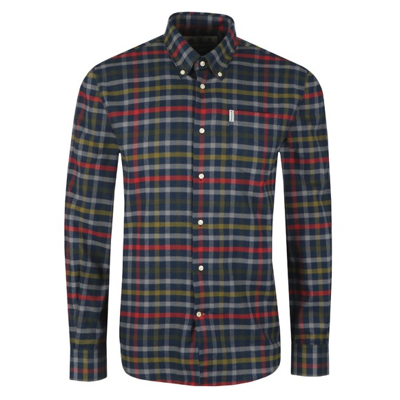 Barbour Lifestyle Mens Blue Hadlo Shirt main image