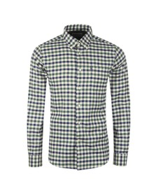 Barbour Lifestyle Mens Green Country Check 3 Shirt