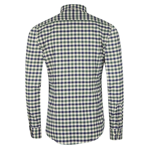 Barbour Lifestyle Mens Green Country Check 3 Shirt main image