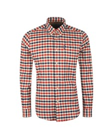 Barbour Lifestyle Mens Red Country Check 3 Shirt