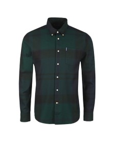 Barbour Lifestyle Mens Black Dunoon Shirt