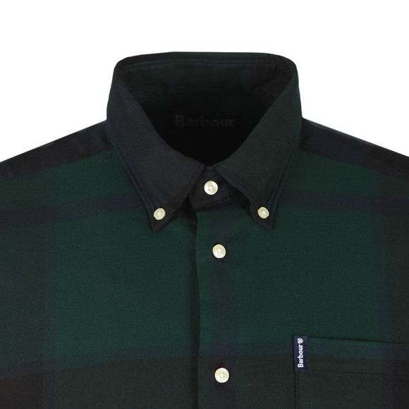 Barbour Lifestyle Mens Black Dunoon Shirt main image