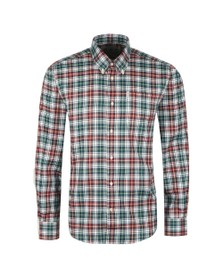 Barbour Lifestyle Mens Red Thermo-Tech Lund Shirt