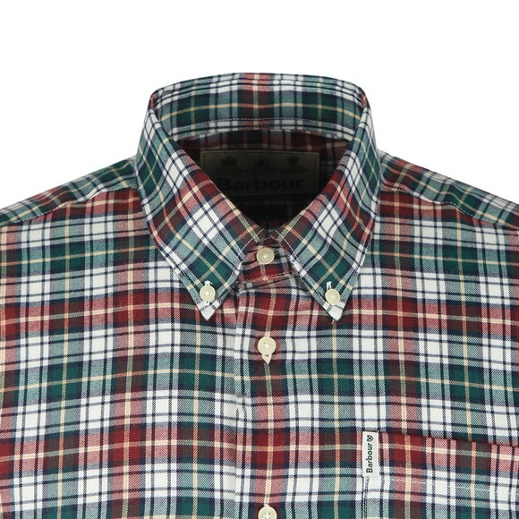 Barbour Lifestyle Mens Red Thermo-Tech Lund Shirt main image