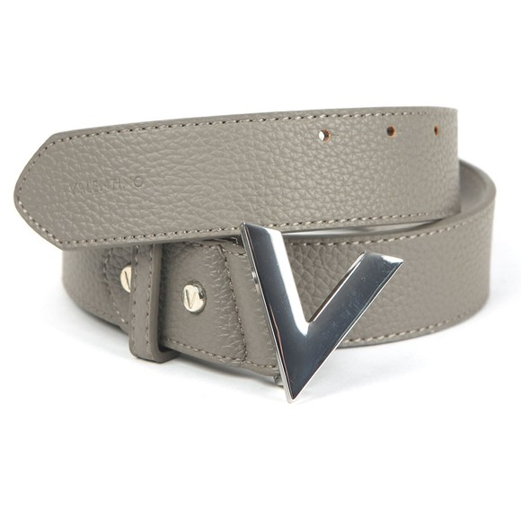 Valentino by Mario Womens Grey Forever Belt