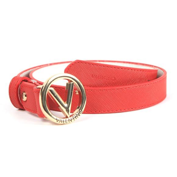 Valentino by Mario Womens Red Round Belt main image