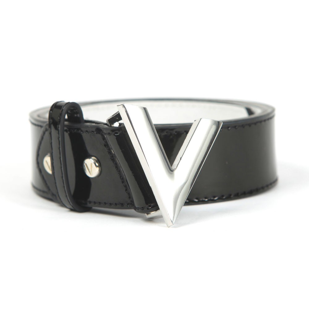 Plain Large Logo Patent Forever Belt main image