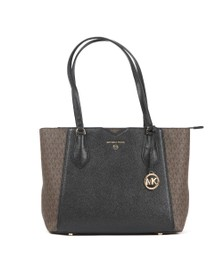 Michael Kors Womens Brown Mae Mid Tote