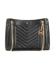 Michael Kors Womens Black Susan Bag