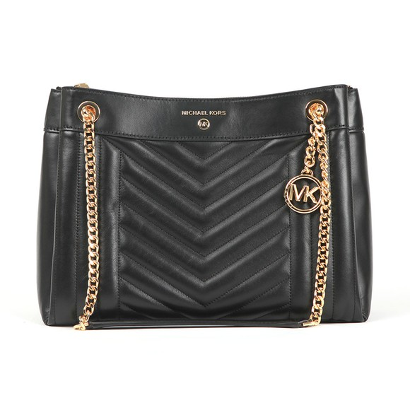 Michael Kors Womens Black Susan Bag main image