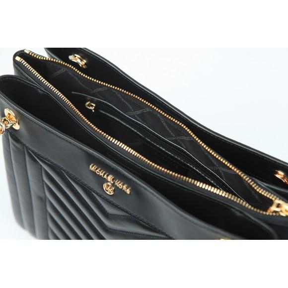 Michael Kors Womens Black Susan Bag main image