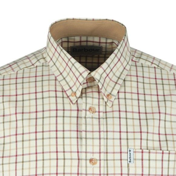 Barbour Lifestyle Mens Red Tattersall Shirt main image