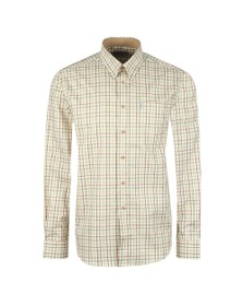 Barbour Sporting  Mens Red L/S Maud Check Shirt