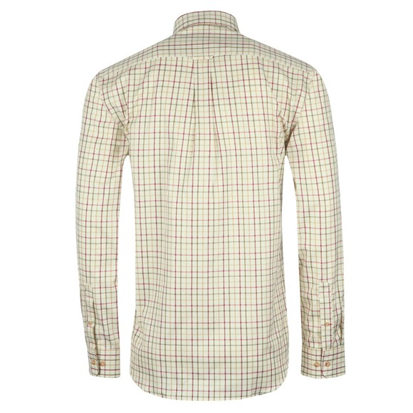 Barbour Sporting  Mens Red L/S Maud Check Shirt main image