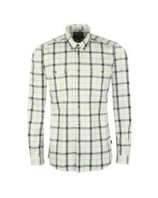 Barbour International Mens Off-White Shroud Shirt