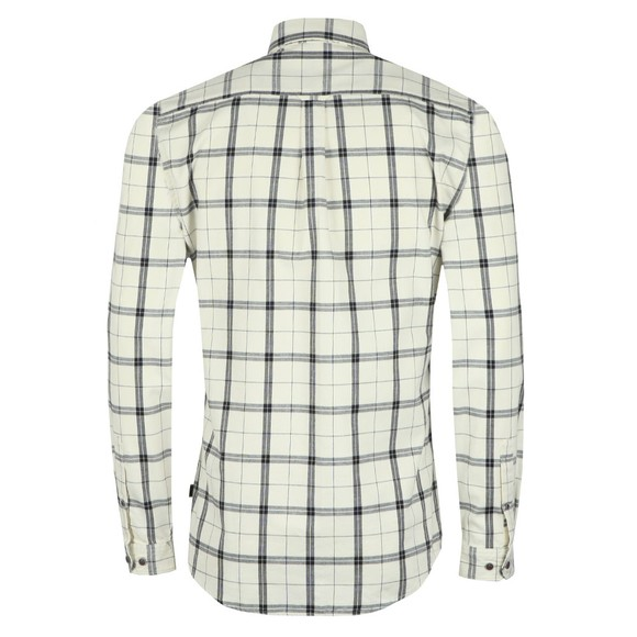 Barbour International Mens Off-White Shroud Shirt main image
