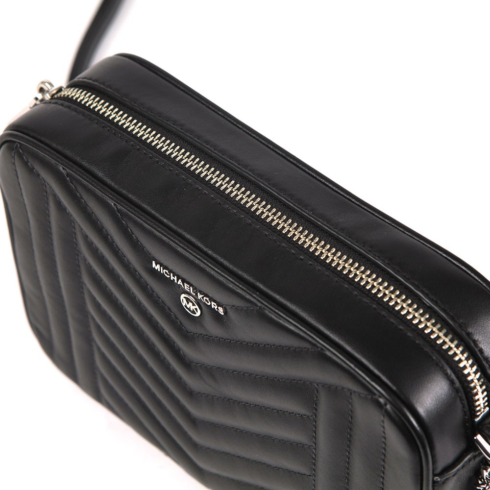 Jet Set Charm Quilted Camera Bag main image