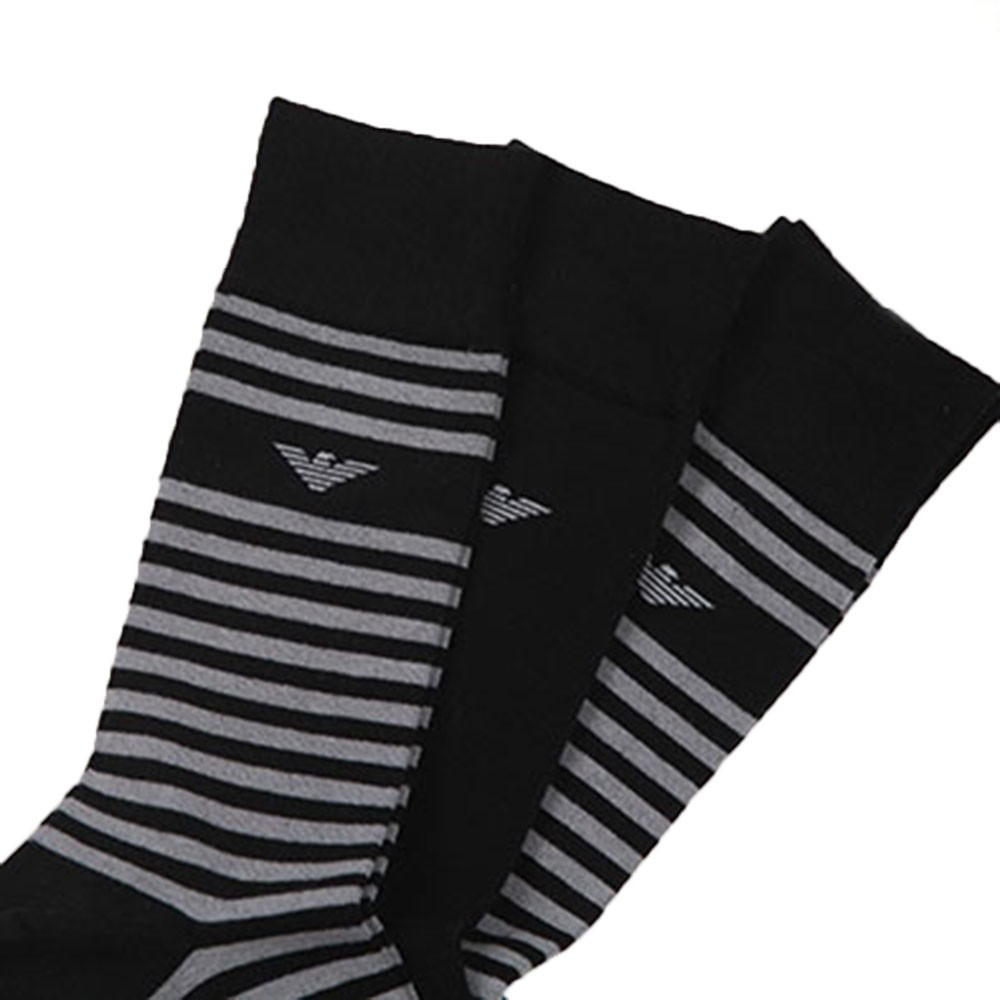 Stripe 3 Pack Socks main image