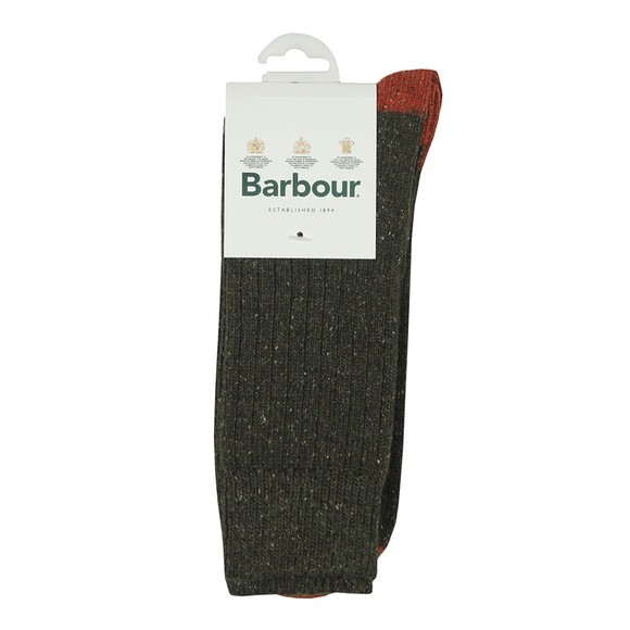 Barbour Lifestyle Mens Green Houghton Sock