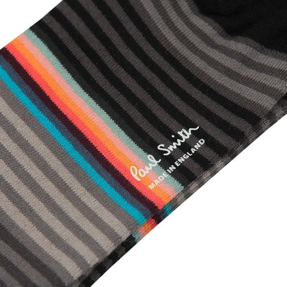 Paul Smith Mens Grey Graded Block Sock