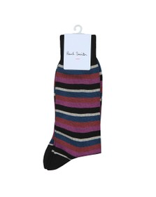PS Paul Smith Mens Purple Hurbert Sock